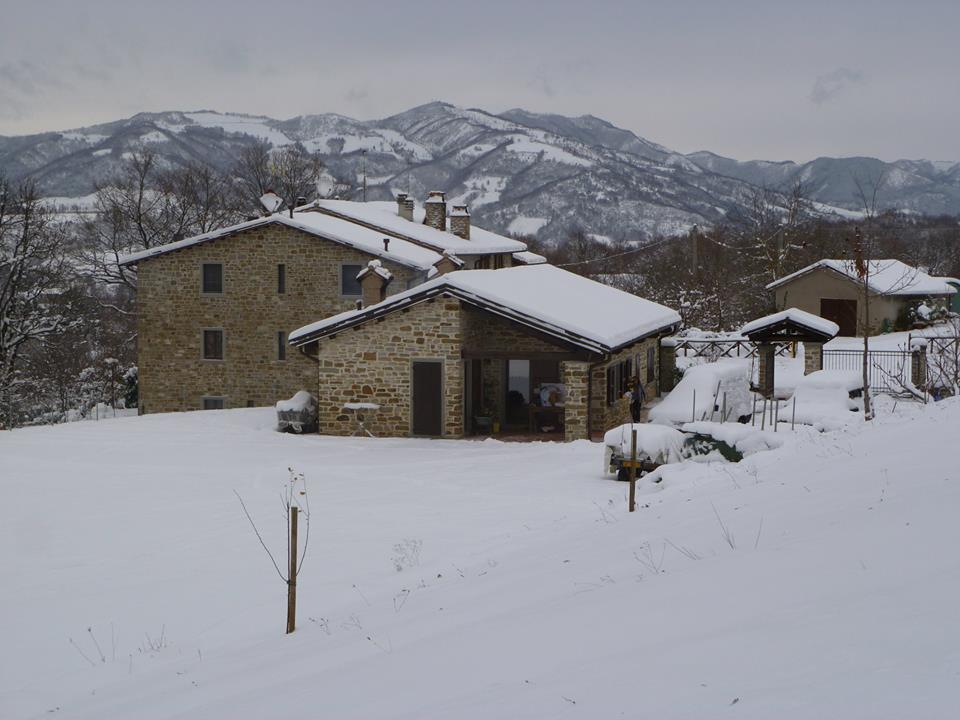 Con la neve - Agriturismo Case Nuove